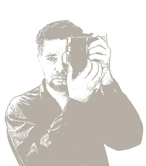 Selfie bijansviewfinder